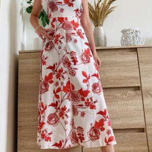 Romantické šaty s květy