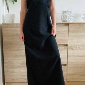 Černé dlouhé šaty