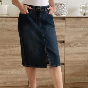 Nová džínová sukně