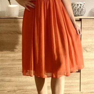 Oranžové šaty H&M