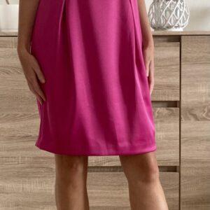 Fuchsiové šaty č.66