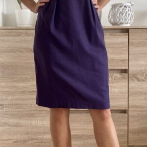 Fialové šaty č. 59