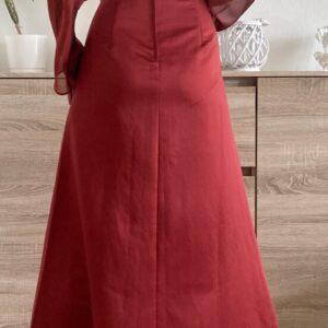 Dlouhé červené šaty č. 60