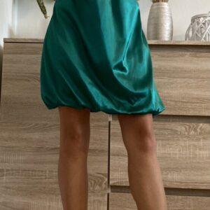 Zelené lesklé šaty č. 99