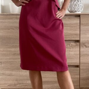 Fuschiové šaty č. 68