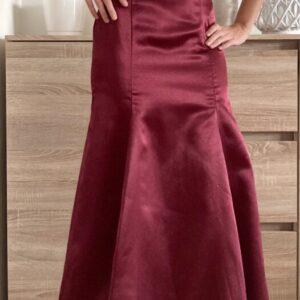 Dlouhé vínové šaty č.64