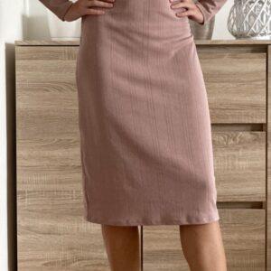 Pudrové šaty č. 67