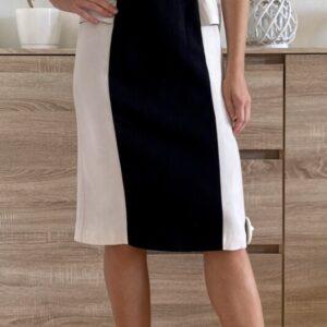Černobílé šaty č. 78