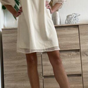 Smetanové šaty č.89