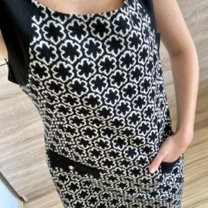 Šaty s květy č.77