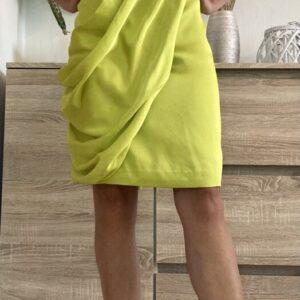 Zelenožluté šaty/tunika č. 92