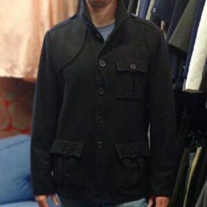 Černý sportovní kabátek