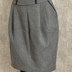 Šedá sukně s kapsami ZARA č. 66