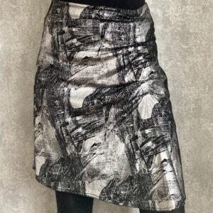 Černo-stříbrná sukně ESPRIT č. 62