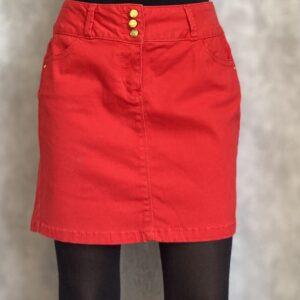 Červená sukně č. 7