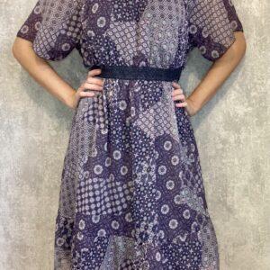 Fialové šaty C&A