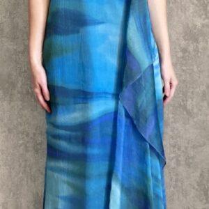 Modrozelené šaty č. 169