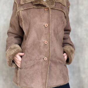 Kabátek z umělé kožešiny M & Co č. 1