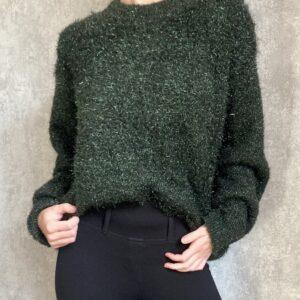 Zelený svetr H&M č.1