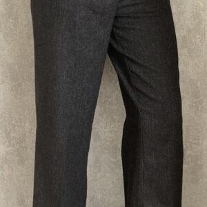 Černé vlněné kalhoty 3