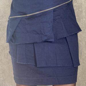 Modrá sukně Orsay