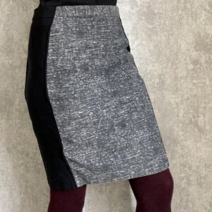 Šedá sukně s efektem zeštíhlení H&M