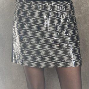Flitrovaná sukně Mango